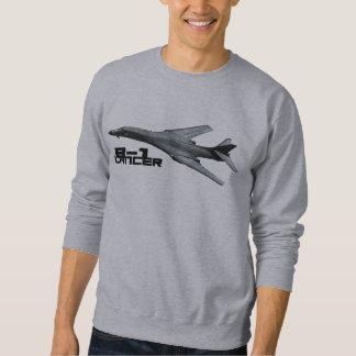 Handtag för Lancer B-1 över sweatshirts Sweatshirt