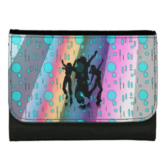 Handväska som dansar i regna