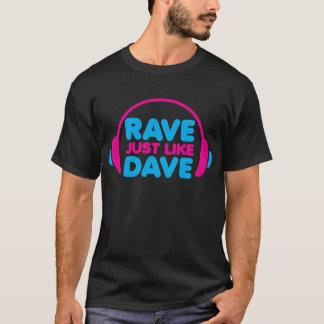 Hänförda precis lika Dave Tröja