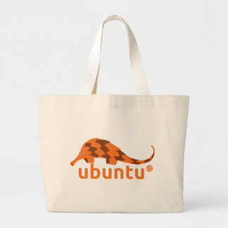 Hänga lös den Ubuntu pangolinen Jumbo Tygkasse