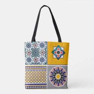 hänga lös det arabiska mönster tygkasse