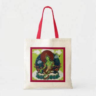 HÄNGA LÖS gröna Tara - välj färgen av dina handtag Budget Tygkasse