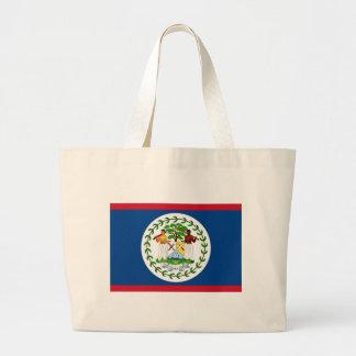 Hänga lös med flagga av Belize Jumbo Tygkasse