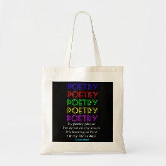 Hänga lös poesi behar dikt tygkasse