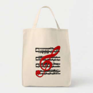 Hänga xxxx_10-Musikal beteckningssystem Tygkasse