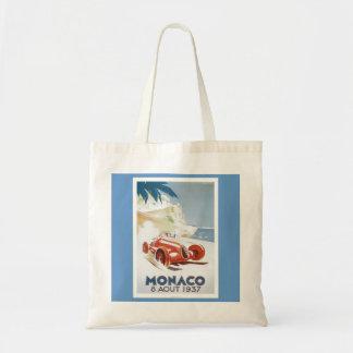 Hänga xxxx_7-Vintage Resa-Monaco Tygkasse