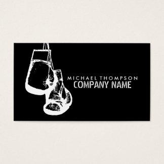 Hängande boxninghandskar, boxning visitkort