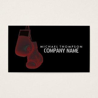 Hängande boxninghandskar, Solarize verkställer, Visitkort