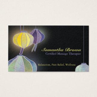 Hängande Holistic vård- visitkortar för lyktor Visitkort