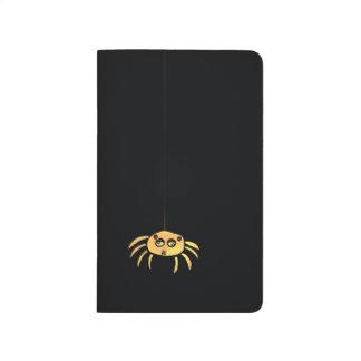 Hängande spindel Halloween Anteckningsbok
