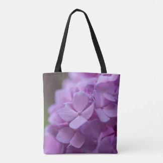 Hänger lös den blom- totot för rosa vanlig tygkasse