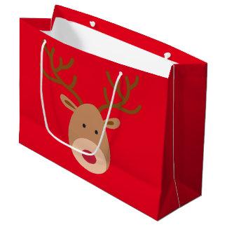 Hänger lös den glansiga gåvan för julrenen