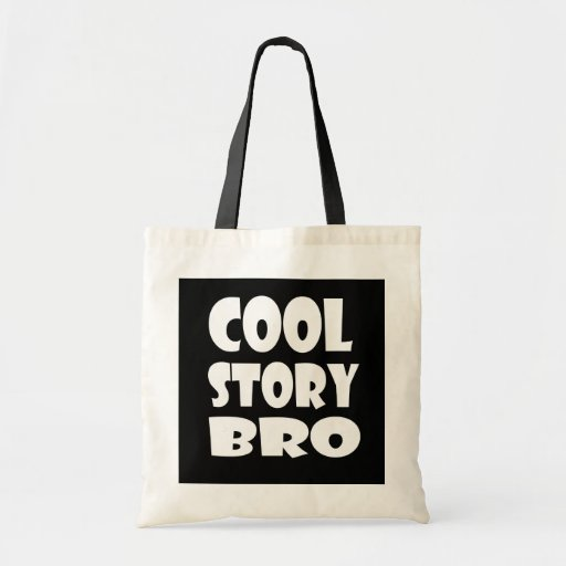 Hänger lös den kalla berättelsen Bro för trendiget Tote Bags