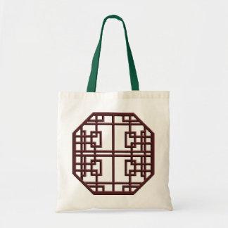 Hänger lös den kinesiska Latticeworkgåvan för maho Budget Tygkasse