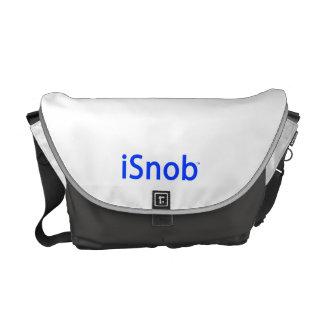 """""""hänger lös iSnob"""" vid snobbBrännmärka-Budbärare Kurir Väskor"""
