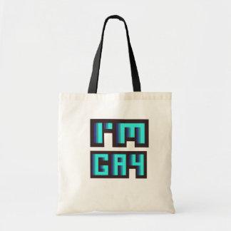 Hänger lös jag totot för förmiddagbög LGBT Tote Bags