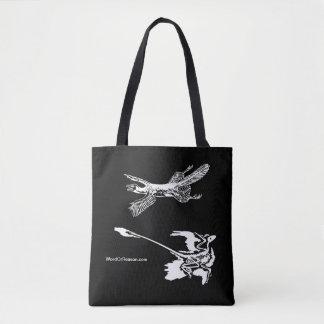 """Hänger lös Tetrapteryx"" & den Microraptor totot Tygkasse"