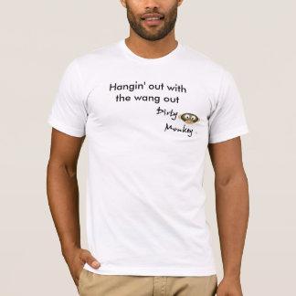 Hangin ut med wangen ut tee shirts