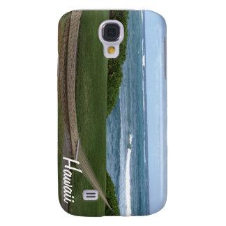Hängmattan på stranden i Hawaii iPhone 3 täcker Galaxy S4 Fodral