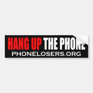 Hängning upp den mobila bildekalet 1 vid Clownsec Bildekal