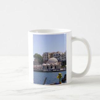 Hania Crete inre hamn Kaffemugg