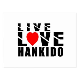 HANKIDO-designer Vykort