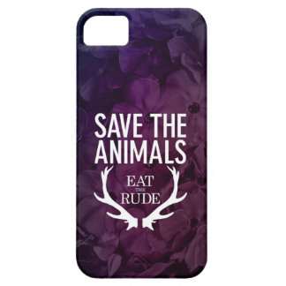 Hannibal äter det ohyfsat/spara djuren mobil Cas iPhone 5 Skal