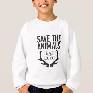 Hannibal Lecter - äta det ohyfsat (spara djuren), Tee Shirts