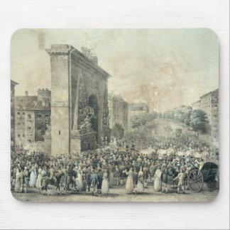 Hänrycka av Louis XVIII till och med Porte Musmatta