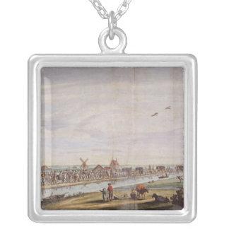 Hänrycka av Marie de Medici in i Holland Silverpläterat Halsband