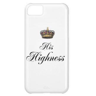Hans Highness (delen av hans och den hennes iPhone 5C Fodral