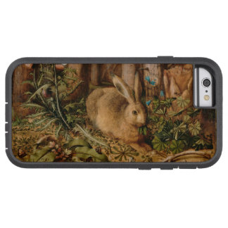 Hans Hoffmann en Hare i skogvintagen Tough Xtreme iPhone 6 Fodral
