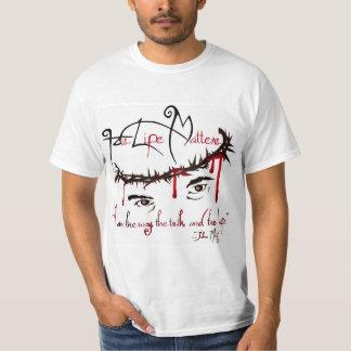 Hans liv betyder den kristna T-tröja Tee Shirts