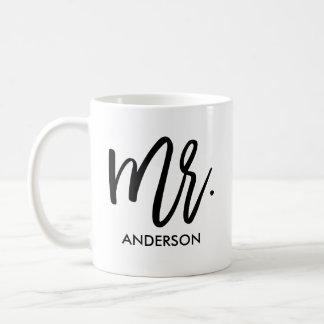 Hans mycket egna personlig kaffemugg