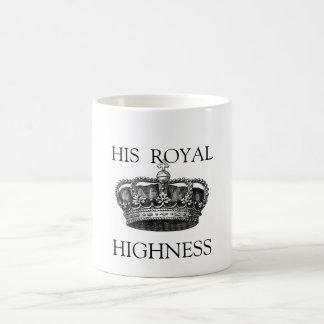 Hans Teamugg för kunglig Highness Kaffemugg