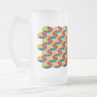 Hantverk Colorey/frostad Glass ölmugg Frostat Ölglas