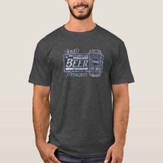 Hantverkölbryggare - blått & vit kan den ha på sig tröjor