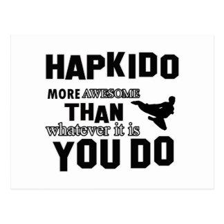 Hapkido är enorm vykort
