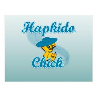 Hapkido chick #3 vykort