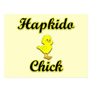 Hapkido chick vykort