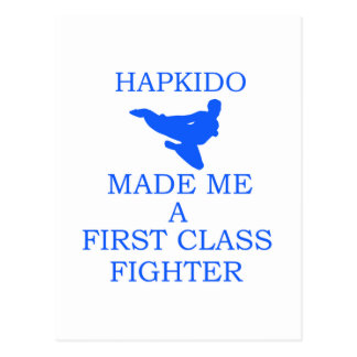 Hapkido design vykort