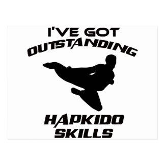 Hapkido designer vykort