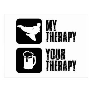 Hapkido min terapi vykort