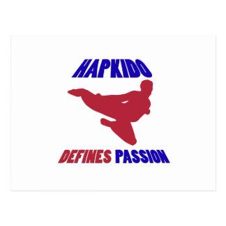 Hapkido passion vykort