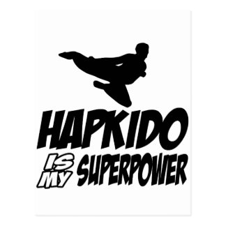 hapkidoen är min superpower vykort
