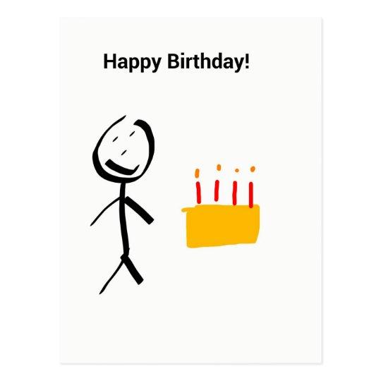 Happy Birthday Vykort
