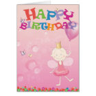 Happy birthdaycard Prisma Hälsningskort