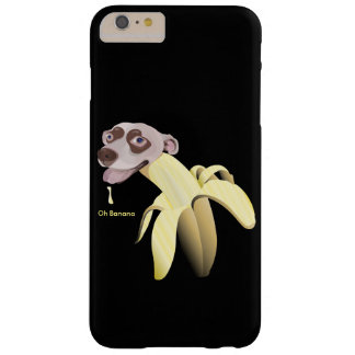 HAPPY&CUTE-BANANHund-Oh banan Barely There iPhone 6 Plus Skal