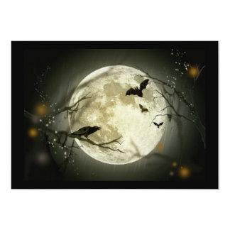 happy halloween 12,7 x 17,8 cm inbjudningskort