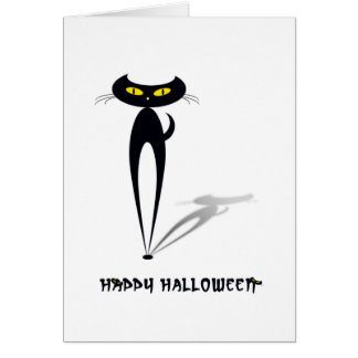 Happy halloween hälsningskort